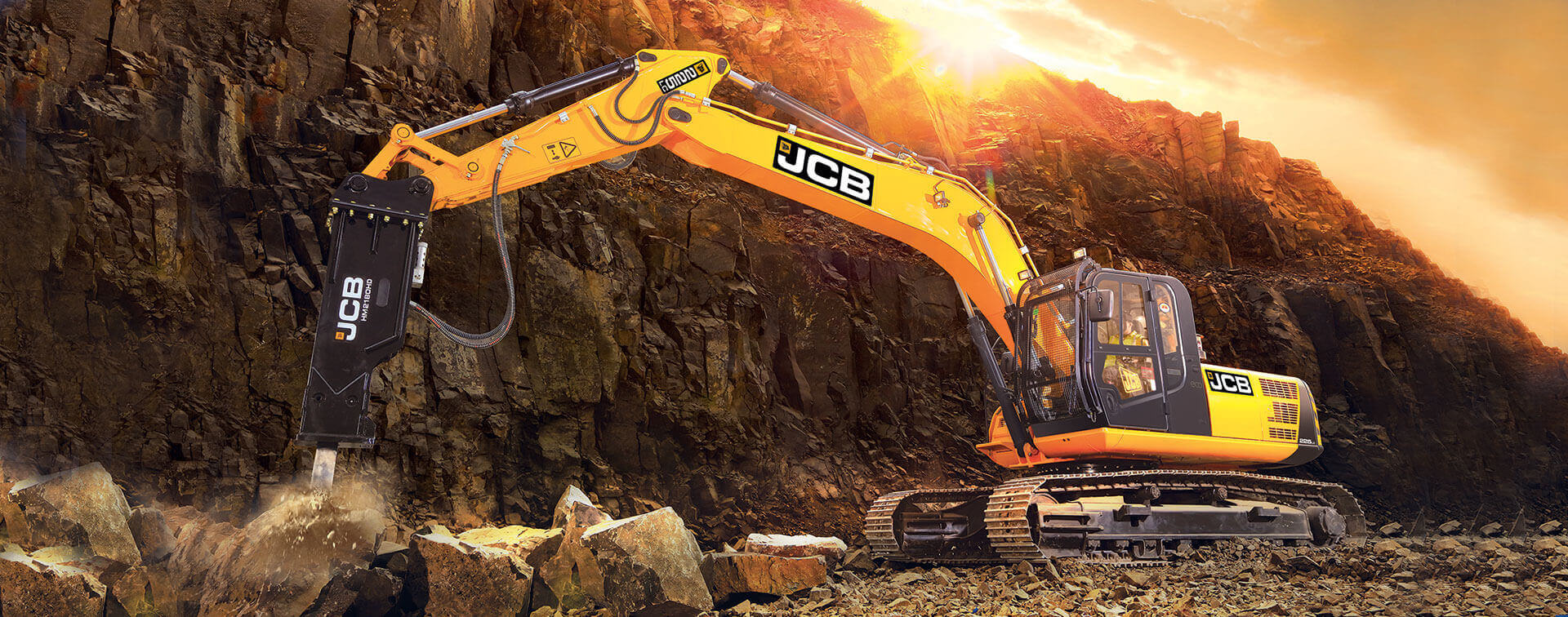 JCB Excavator Commercial Vehicle