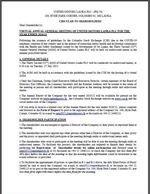 Circular to Shareholders - July 2021
