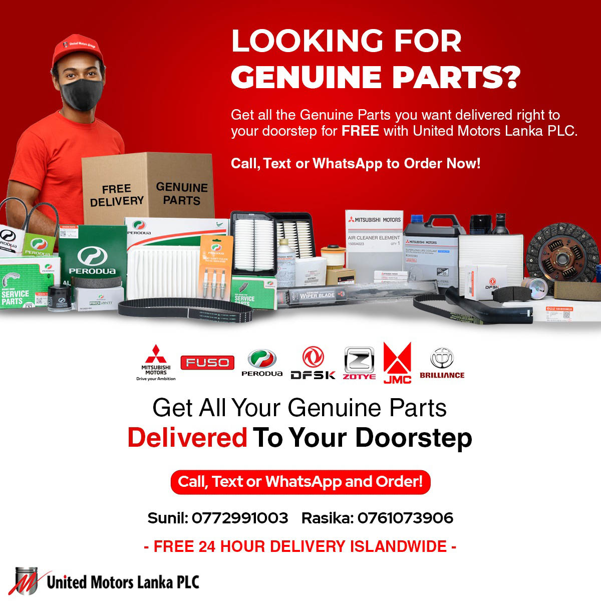 Image for Looking For Genuine Parts?