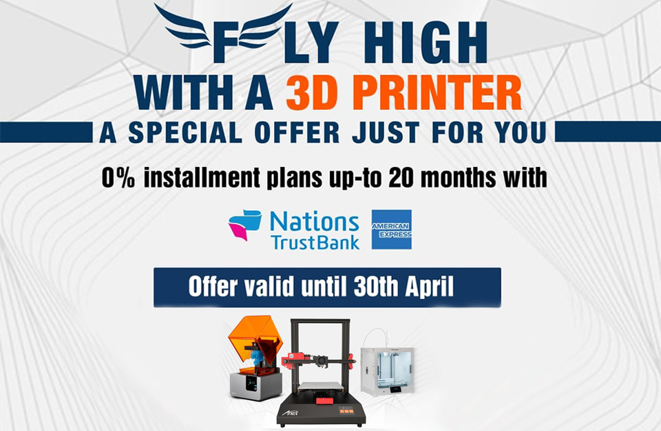 Fly High with a 3D Printer