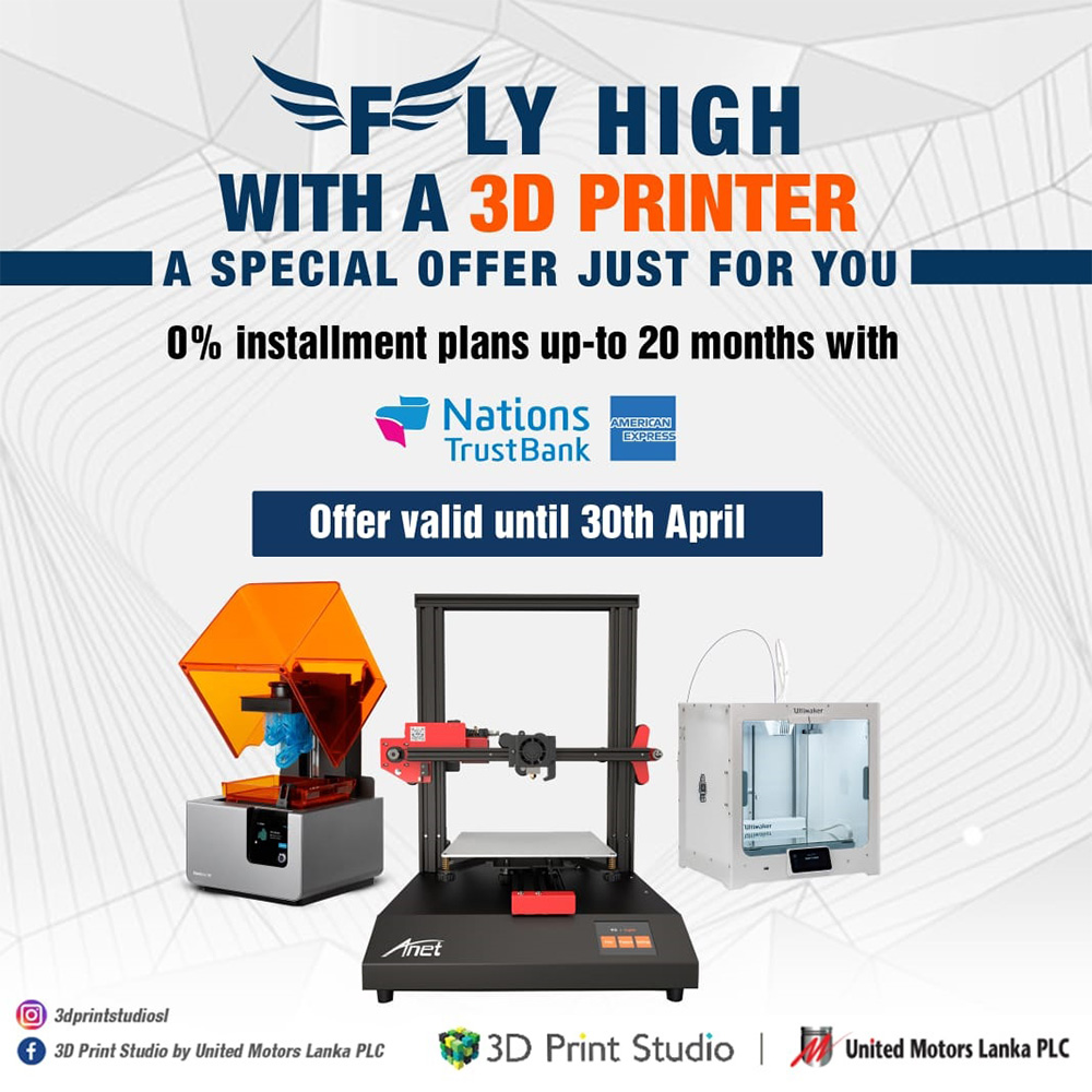 Image for Fly High with a 3D Printer